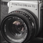 Pentacon six TL with measuring prism
